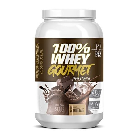WHEY 100% GOURMET PROTEIN - 900G - HEALTH LABS