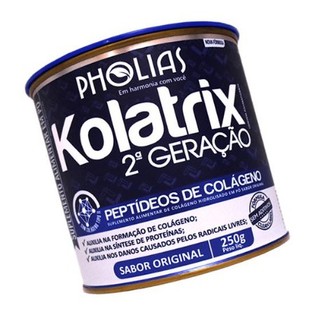 KOLATRIX 2ª GERAÇÃO 250G - PHOLIAS - PEPTÍDEOS DE COLÁGENO