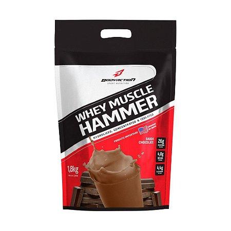 WHEY MUSCLE HAMMER REFIL - 1,8kg - BODYACTION