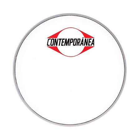 """Pele Nylon Leitosa 14"""" Contemporânea Tantan Caixa Timbal"""