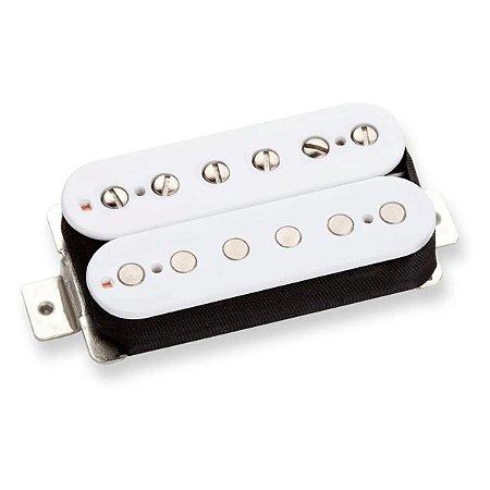 Captador Guitarra Humbucker Custom 59 Braço Malagoli Branco