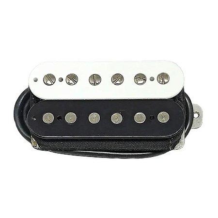 Captador Guitarra Humbucker Custom 59 Braço Malagoli Zebra
