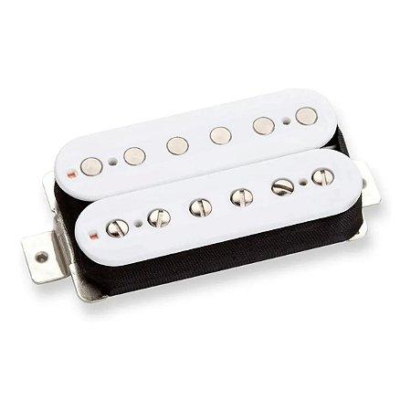 Captador Guitarra Humbucker Distortion Ponte Malagoli Branco