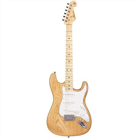 Guitarra Elétrica Stratocaster Sx SSTASH Natural Ash Series