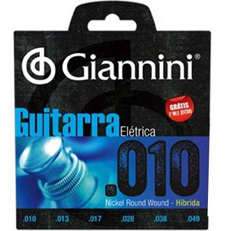 Encordoamento Para Guitarra 010 Giannini  oferta