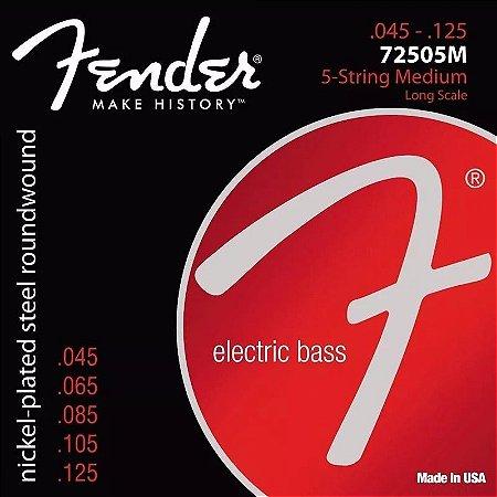 Encordoamento Para Contra Baixo 5 Cordas 045 Fender