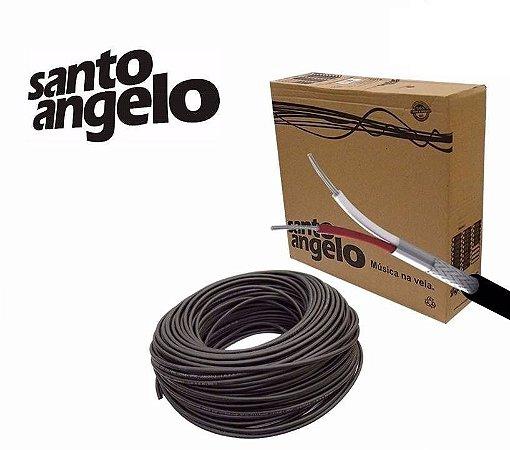 Cabo para Microfone Balanceado Santo Angelo X30 Rolo