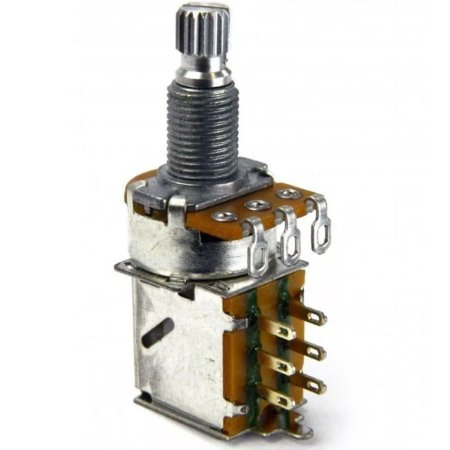 Potenciômetro Push Pull Logarítmico A500K Alpha