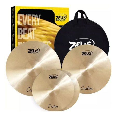 Kit De Pratos Zeus Custom Set C + Bag