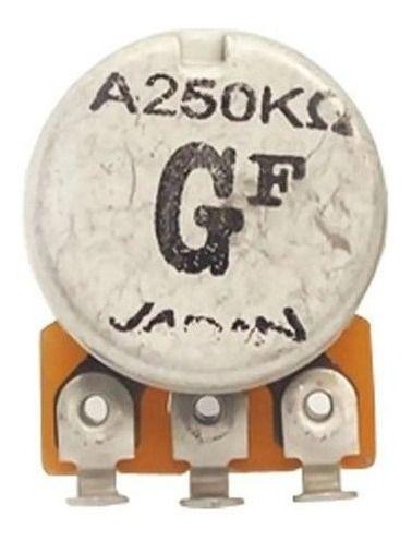 Potenciômetro Gotoh Base Pequena Eixo Longo A250K