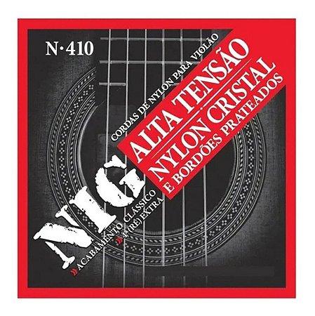 Jogo De Cordas Para Violão Nylon Nig Tensão Alta N-410