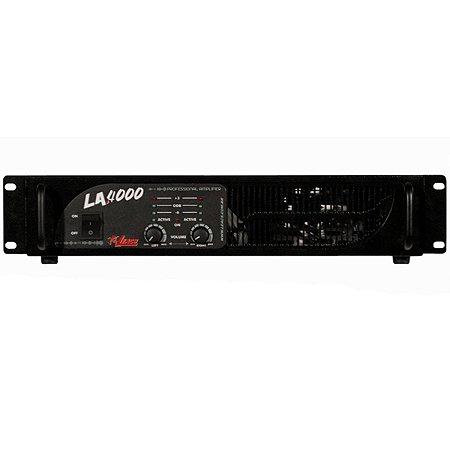 Amplificador de Potência Leacs LA4000 2 Canais 660 Watts RMS