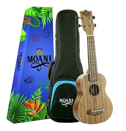 Ukulele Moani Soprano Acustico UKMH02-21 Com Bag