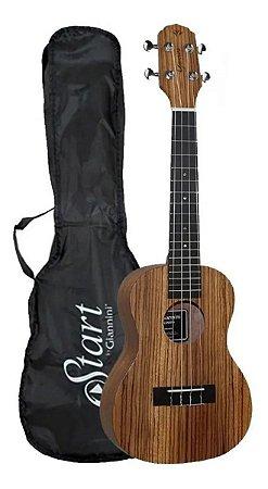 Ukulele Giannini Concert Acústico Guk-23 Zw Com Capa