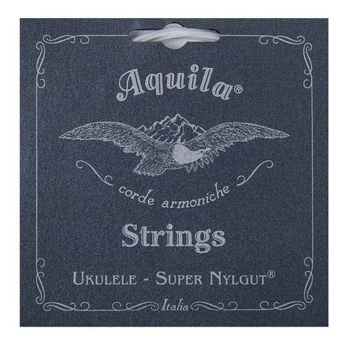 Jogo de Corda Ukulele High G Aquila Soprano Super Nylgut