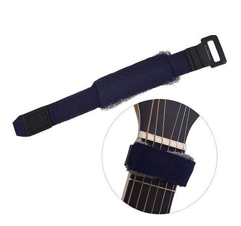 Abafador De Cordas Fretwrap Para Guitarra Baixo Pequeno
