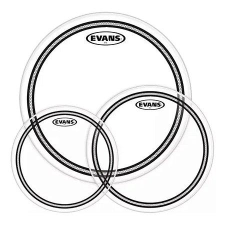 """Kit De Peles Evans EC2S Fusion Clear 12"""" 13"""" 16"""" Level 360°"""