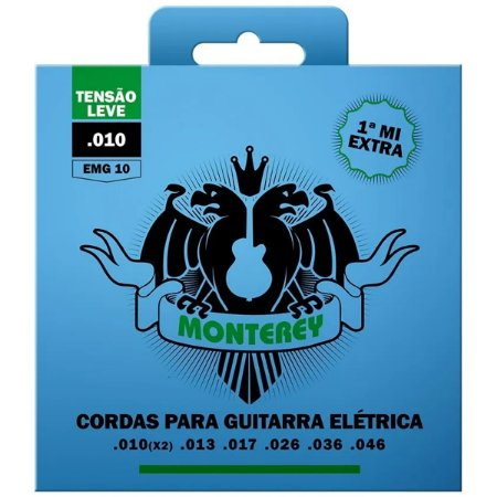 Jogo De Cordas Para Guitarra Monterey By Solez 010