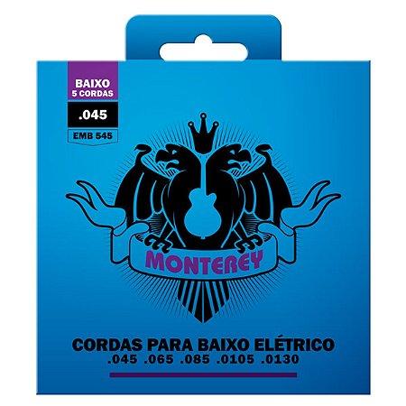 Encordoamento Para Baixo 5 Cordas 045 Monterey By Solez