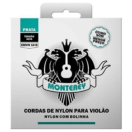 Jogo De Cordas Para Violão Nylon Monterey Com Bolinha