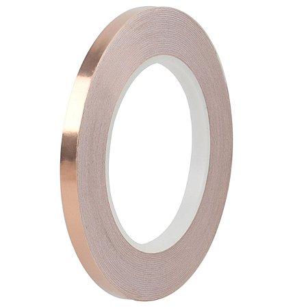 Fita Adesiva De Cobre 5mm Para Blindagem De Instrumentos