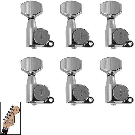 Tarraxas Cromada Blindada Guitarra Em Linha Gotoh SG360-07
