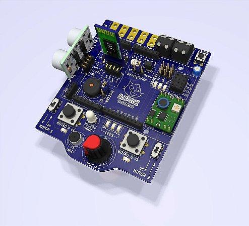 Scratch Board + Arduino Uno + Pack Sensores extra