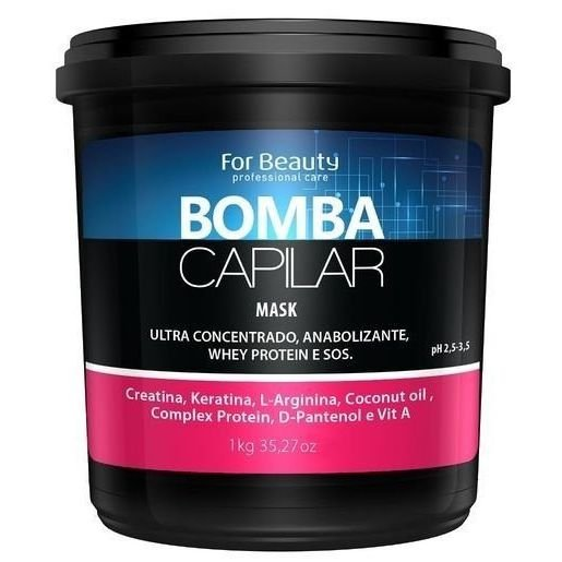 For Beauty Bomba Capilar Máscara 1kg