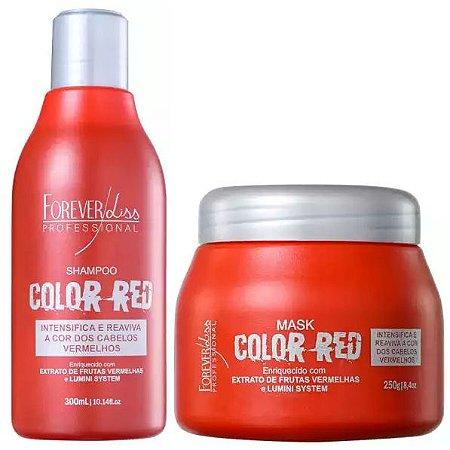 Forever Liss Color Red Kit Manutenção Cabelos Vermelhos (2 itens)