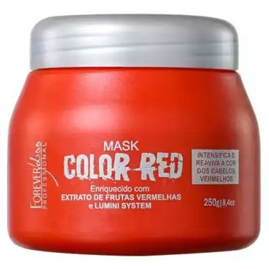 Forever Liss Color Red Máscara Tonalizante 250g