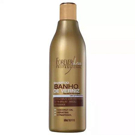 Forever Liss Banho de Verniz Shampoo Extra Brilho 500ml