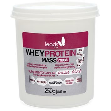 Leads Care Whey Protein Máscara Reconstrutura 250g