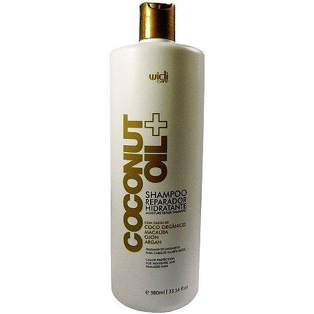 Widi Care Coconut Oil Shampoo Reparador Hidratante 980ml