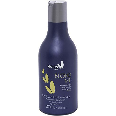 Leads Care Blond Me Condicionador Manutenção 300ml