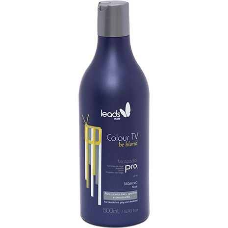 Leads Care Colour TV Be Blond Matizador Máscara 500ml