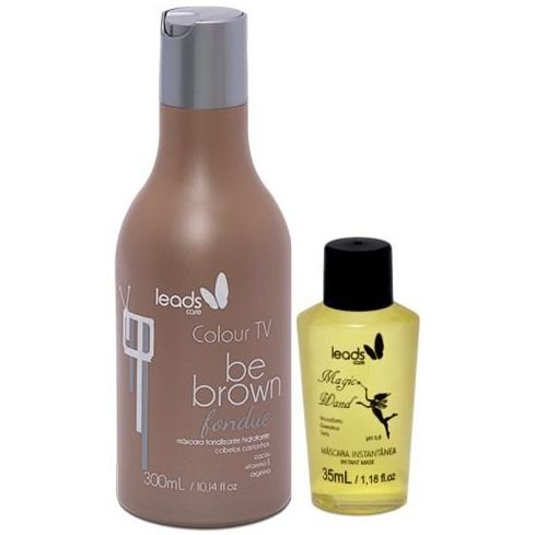 Leads Care Be Brown com Magic Wand (2 itens)