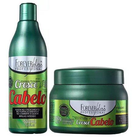 Forever Liss Cresce Cabelo Shampoo com Máscara de 250g (2 itens)