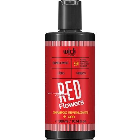 Widi Care Red Flowers Shampoo Revitalizante 300ml