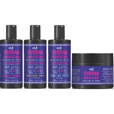 Widi Care Curvas Mágicas (4x300ml/g)