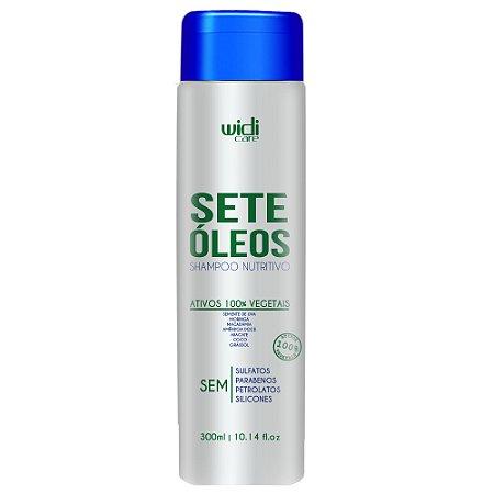 Widi Care Sete Óleos Shampoo Nutritivo 300ml