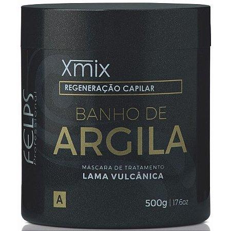 Felps Xmix Tratamento Capilar Máscara Banho de Argila 500g