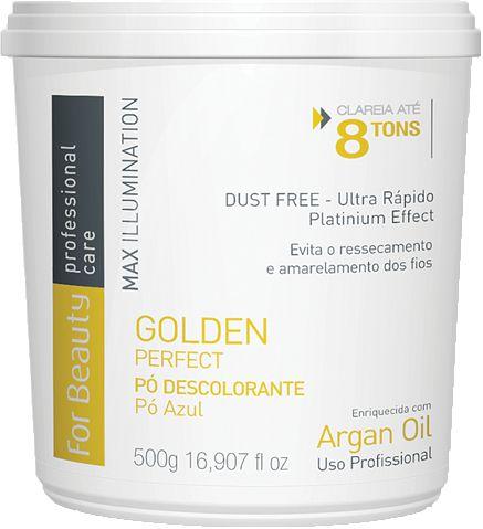 For Beauty Golden Perfect Pó Descolorante 500g