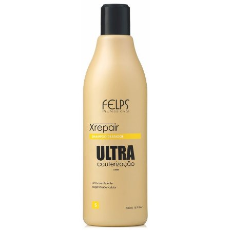 Felps Xrepair Ultra Cauterização Shampoo Dilatador 500ml