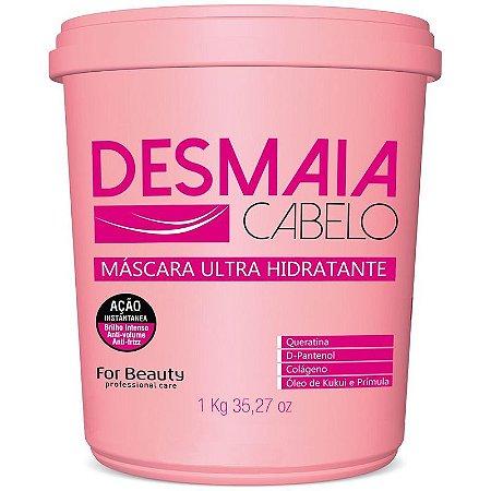 For Beauty Desmaia Cabelo Máscara 1kg