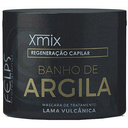 Felps Xmix Tratamento Capilar Máscara Banho de Argila 250g