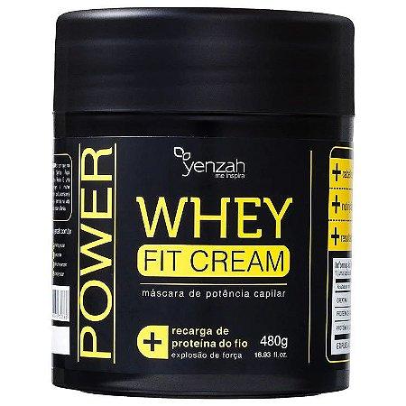 Yenzah Power Whey Fit Cream Máscara 480g