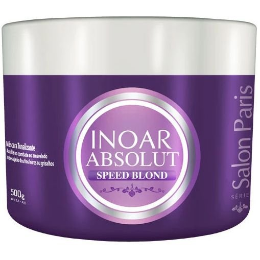 Inoar Absolut Speed Blond Máscara Tonalizante 500g