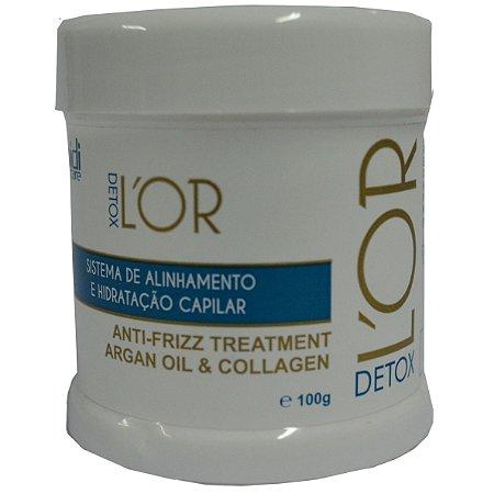 Widi Care L'OR Detox Alinhamento Capilar 100g (Dose Única)