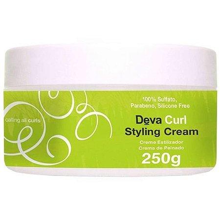 Deva Curl Styling Cream Creme Estilizador 250g