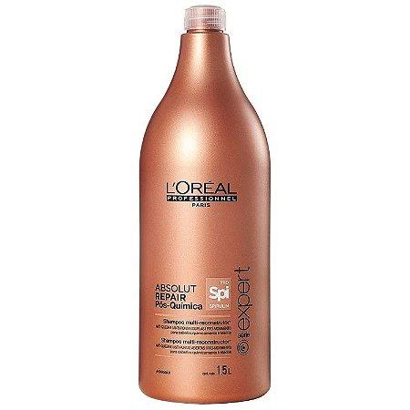 206104ad5 L'Oréal Absolut Repair Pós-Química Multi-reconstrutor Shampoo 1,5L ...